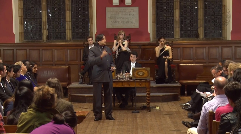 Shashi Tharoor Oxford Union Society Speech