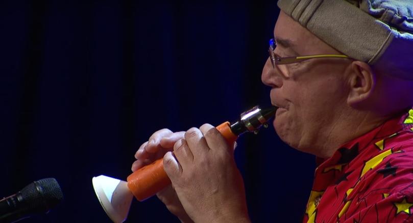 Carrot-Clarinet-Linsey-Pollak-TEDx-Sydney