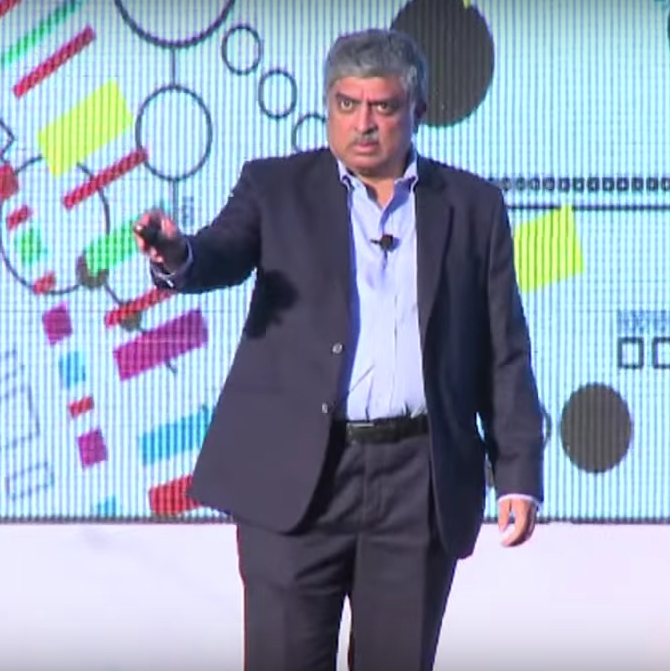 Disruption in Financial Services by Nandan Nilekani